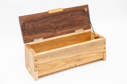 My version of the Mastermyr chest, reinterpreted as a box for a child.